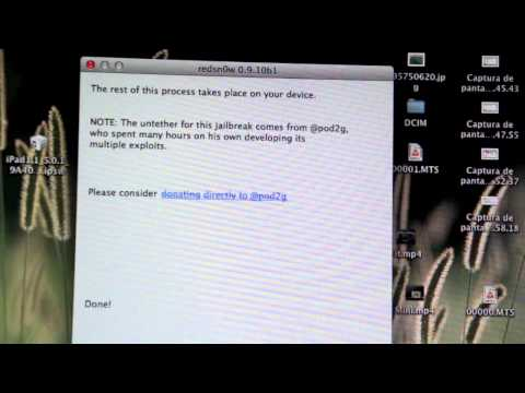 Jailbreak UNTETHERED iOS 5.0.1 en español para iPhone 4 3GS iPod touch 3G 4G & iPad 1