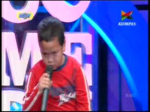 FATHI UNRU (Comic Cilik) Stand Up Comedy Indonesia 3