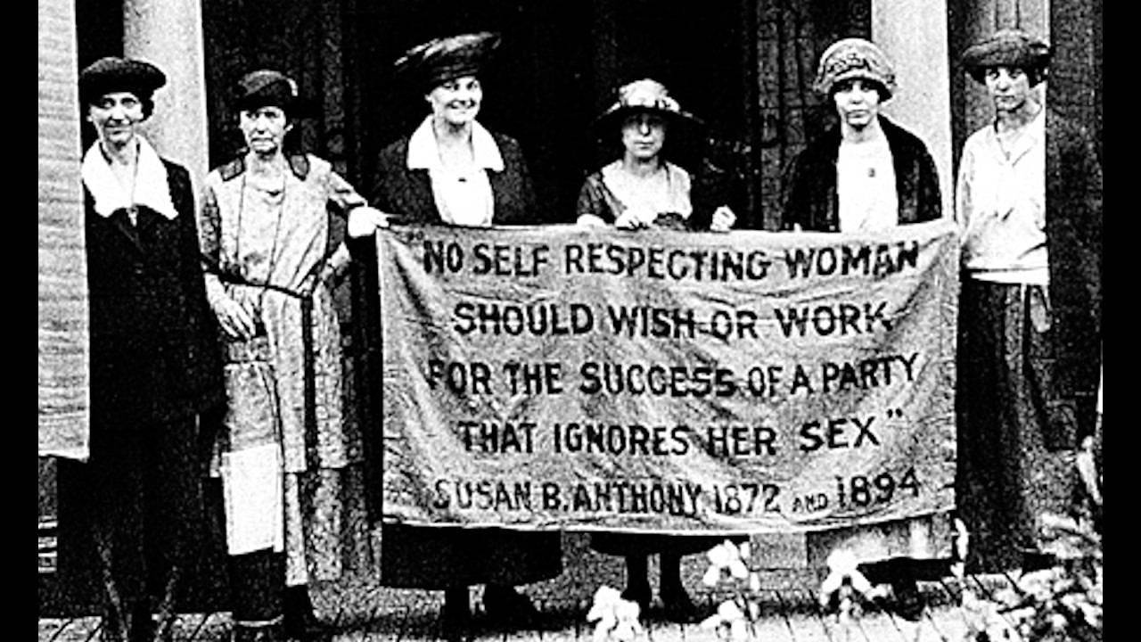 a history of the womens rights movement in the mid xix century in the united states
