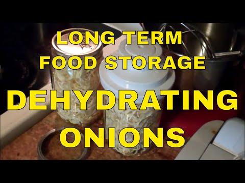 Long Term Food Storage - Dehydrating Onions