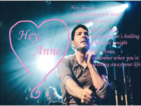 Owl City- Hey Anna (preview/live mashup) w/ Lyrics