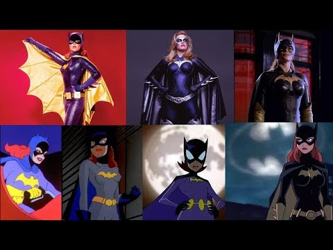 Batgirl - Evolution in TV & Films
