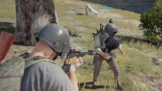 PUBG Mobile || Nghịch ngu flare gun ngoài bo