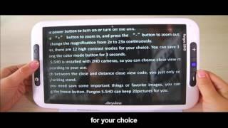 Pangoo 10HD Handheld Digital Reading Aids Video Magnifier