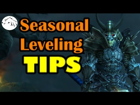 Diablo 3 Season Start TIPS - A guide to Leveling. Gear. and Paragon