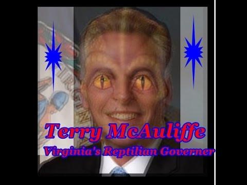 Terry McAuliffe ~ Virginia Governor ~ Reptilian Shapeshifter