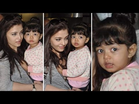 Exclusive Aishwarya Rai SNAPPED with Aaradhya Bachchan