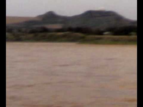 Mangla Dam, River jhelum flood on 31-07-2010 near pandori village....