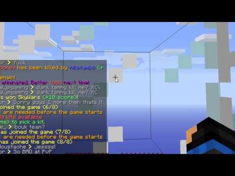 Minecraft Sky wars server NOT cracked