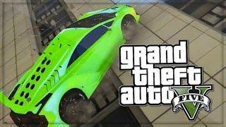 GTA 5 Funny Moments Impossible Supercar Wallride - GTA Online PS4 - (GTA 5 Online Funny Moments)