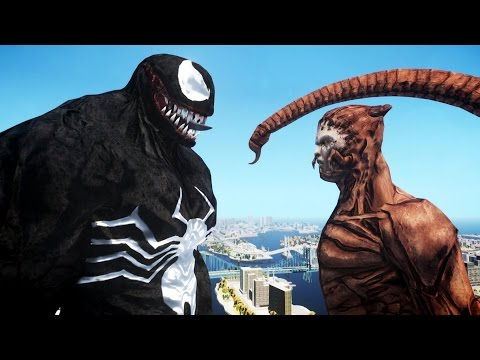 VENOM VS SCORPION - EPIC BATTLE