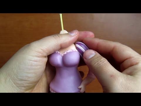 Rapunzel in pasta di zucchero - Fondant Rapunzel tutorial