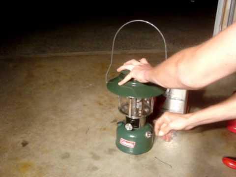 How I Light a Coleman Lantern thumbnail