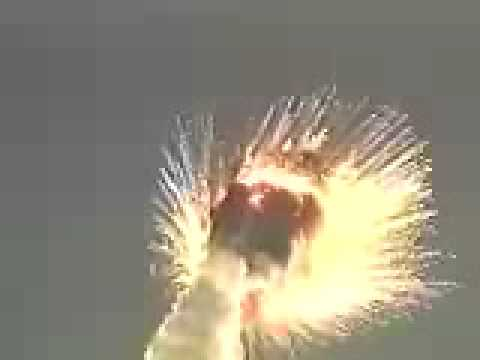 Titan IV A-20 explodes over Cape Canaveral (8-12-98)
