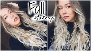 Get Ready With Me // Natural Fall Makeup