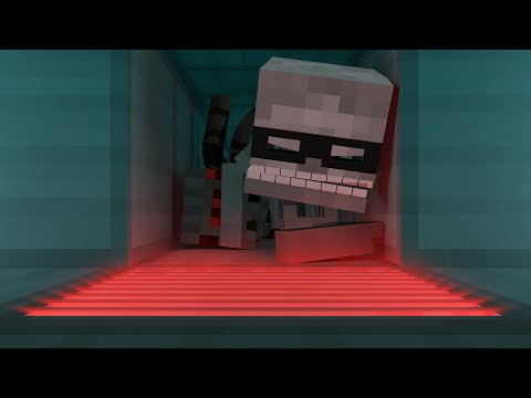 Monster Town: The Robbery (Minecraft Animation)