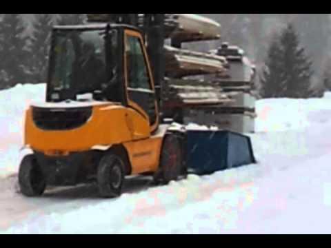 AutoSock – textilní sněhové řetězy pro vysokozdvižné vozíky