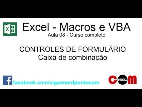 #08 - Macros e VBA - Excel - Curso Completo e Gratuito