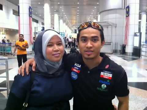Azizulhasni Awang thank you message