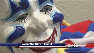 Wichita police find Joyland's clown Louie