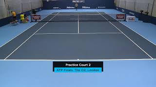 2019 Nitto ATP Finals: Live Stream Practice Court 2 (Tuesday)
