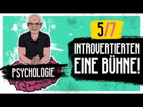 (Die Stillen 5/7) Introvertierten eine Bühne! - Psychologie Tipps #015