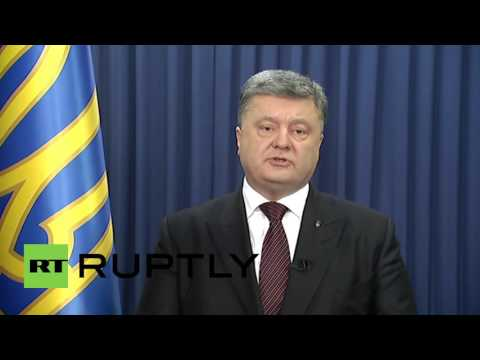 Ukraine: Poroshenko offers Putin prisoner exchange for Savchenko