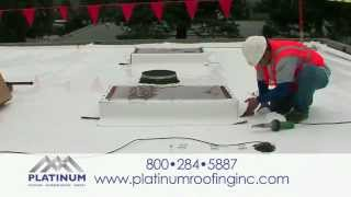 Energy Efficient Roofing Bay Area CA.  Call Platinum Roofing Inc. (408) 280-5028