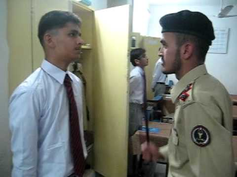 fooling at cadet college kohat.AVI