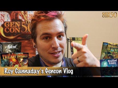 Roy Cannaday's GenCon 50 VLOG
