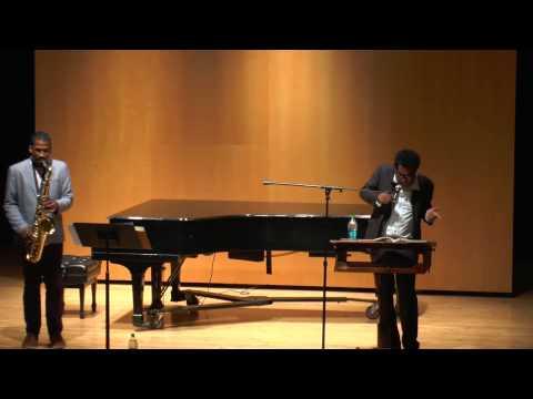 Suppression of Sound • poet Thomas Sayer Ellis saxophonist James Brandon Lewis