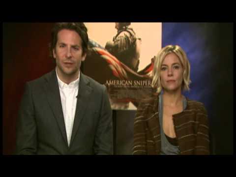 Bradley Cooper & Sienna Miller talk American Sniper