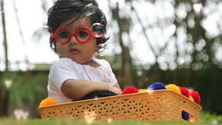 Baby Vihaan's 6 Months Photo Shoot