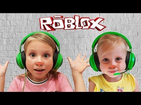 ПОХОМЯЧИМ в Роблокс с НИКОЛЬ и АЛИСА  / Roblox  Николь крейзи геймер