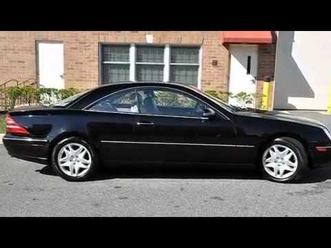 2001 Mercedes Benz Cl500 2001 Mercedes-benz Cl500