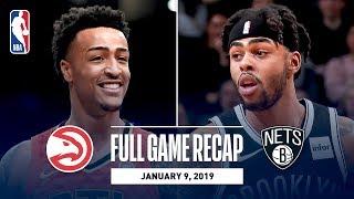 Full Game Recap: Hawks vs Nets   John Collins Puts Up Career High