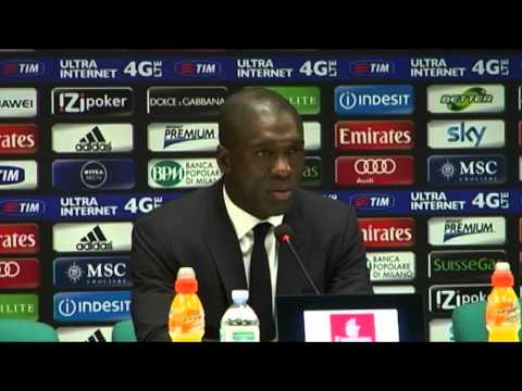 Trainer Clarence Seedorf will
