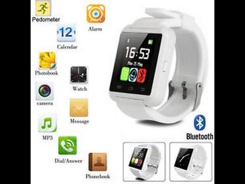 Ewing u8 bluetooth touch screen digital smart watch review by - xrc hobby malaysia (bahasa melayu)