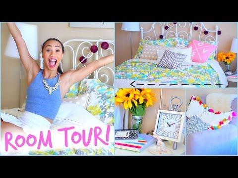 Room Tour 2014! ✿ Back To School Room Decor   Mylifeaseva