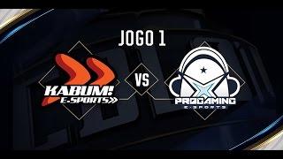 Progaming x KaBuM (Jogo 1 - Dia 2) - Série de Promoção