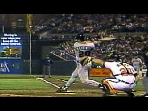 4/20/92: Mickey Tettleton hits the first ever home run to land onto Eutaw Street Check out http://MLB.com/video for more! About MLB.com: About MLB.com: Baseball Commissioner Allan H. (Bud)...