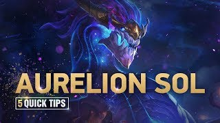 Aurelion Sol: 5 Tips for Climbing Ranked