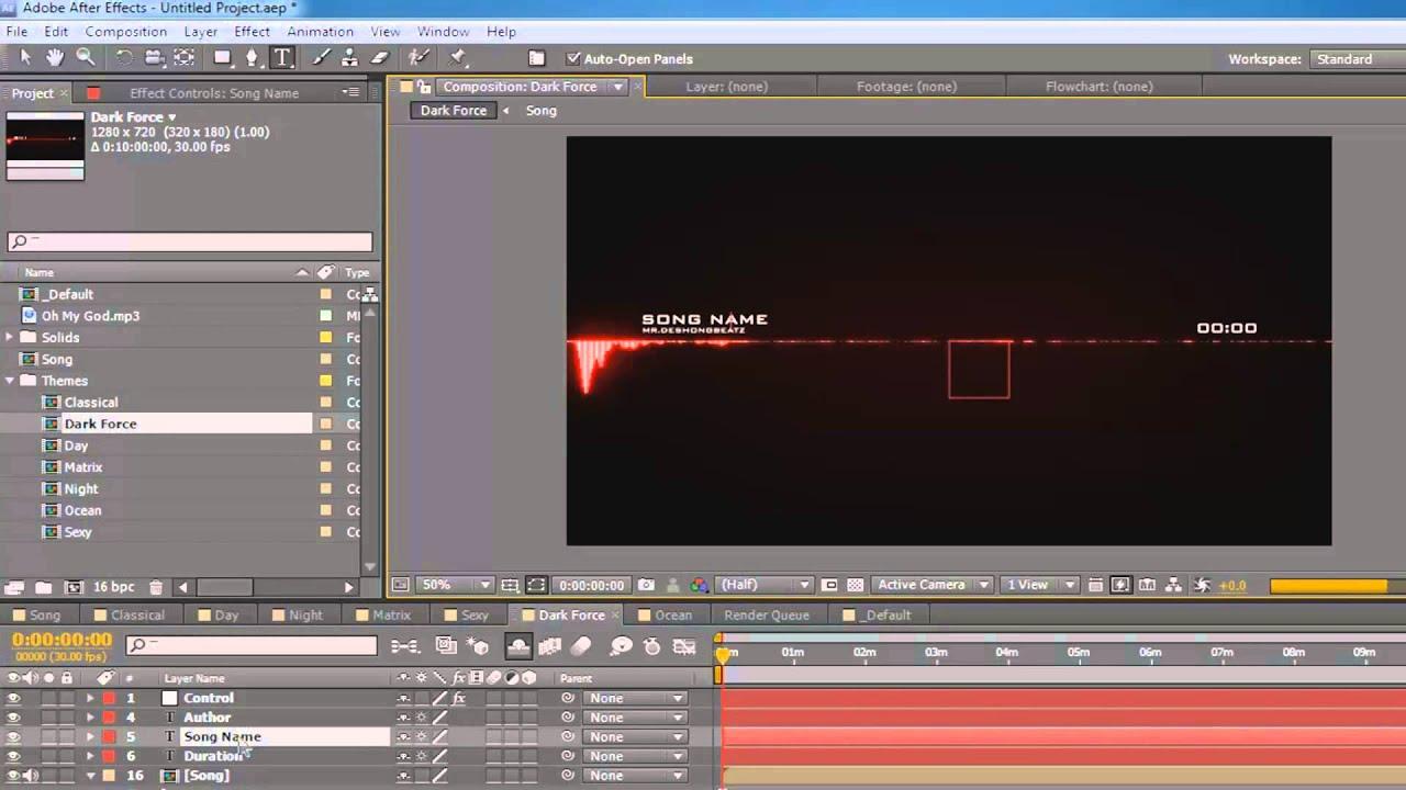 Audio Visualizer Audio Visualizer Creator