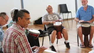 Link Health and Community Drumming Circle