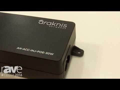 CEDIA 2016: SnapAV's Araknis Updates PoE Injectors, Makes More Compact