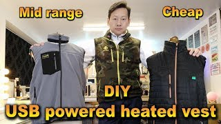 Heated Vest clothing review and comparision 2019