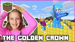Building The Golden Crown / Minecraft Realm