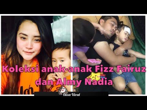 Koleksi comel dan lawak telatah anak-anak Fizz Fairuz dan Almy Nadia.Rapat betul dengan ayahnya