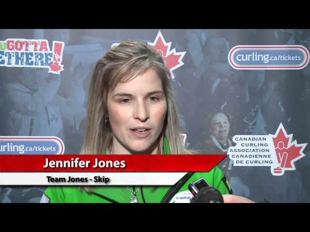 2011 Capital One Canada Cup of Curling -- Women&#039;s Semi Final Media Scrum