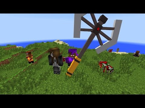Minecraft ORESPAWN Mod Battle Cops and Robbers OP WEAPONS MOD